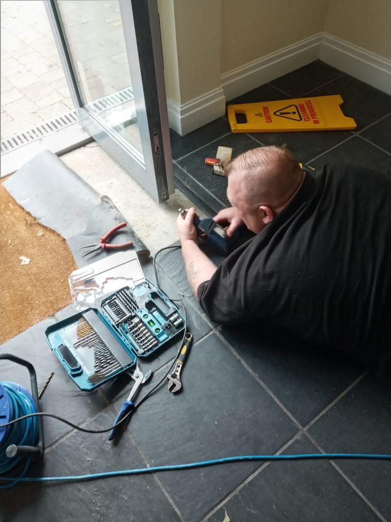 Direct Fix To Aluminium Door System