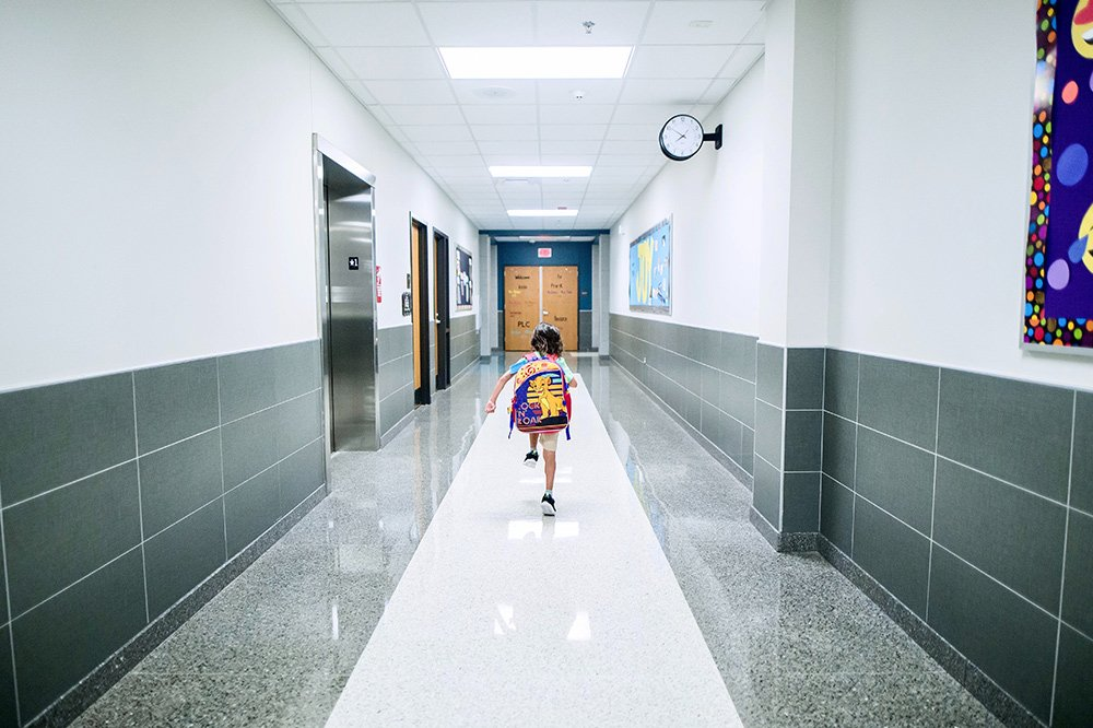 School cleaning services for returning to school