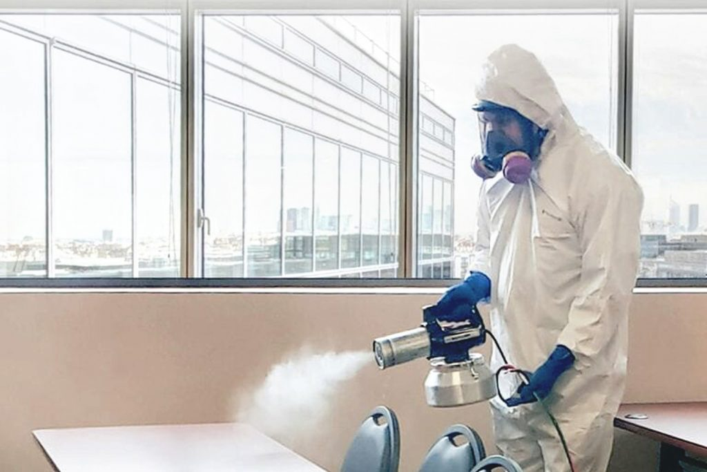 Fogging & office deep cleaning services